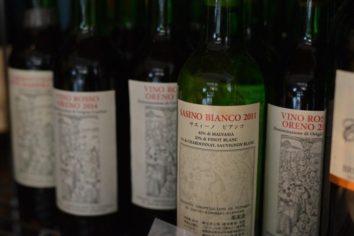 ワインの醸造を始めた