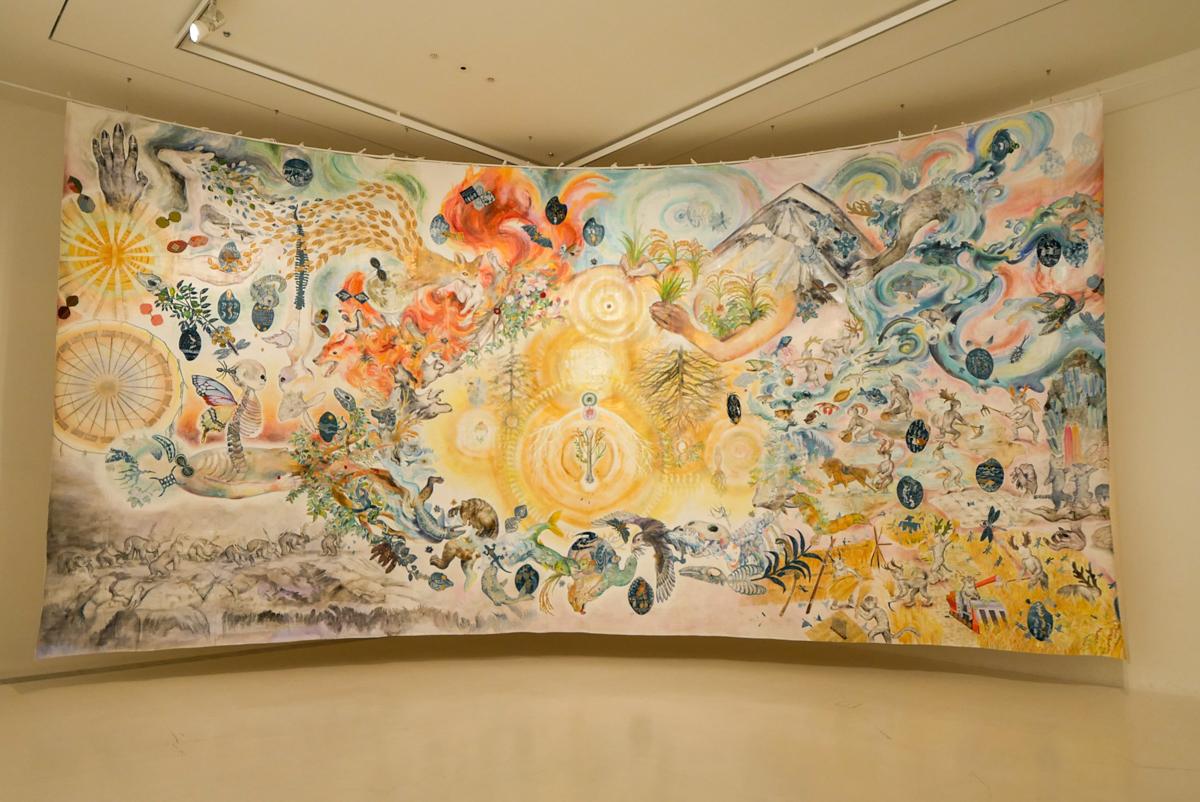 大小島真木+アグロス・アートプロジェクト「明日の収穫」